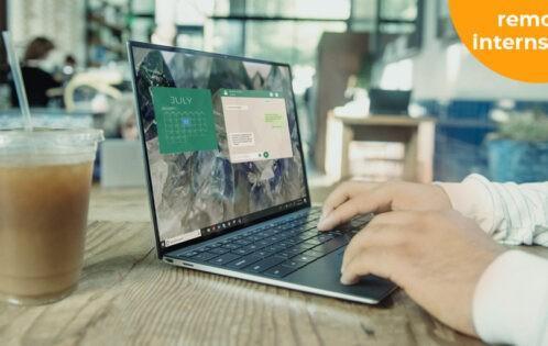 Remote werk laptop